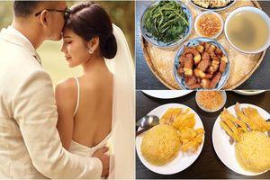 Nấu ăn cực khéo, MC Thu Hoài liên tục 'tẩm bổ' cho ông xã CEO bằng loạt món ăn ngon 'hết sảy'