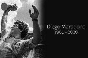 Nghệ sĩ Việt thương tiếc khi huyền thoại Diego Maradona qua đời