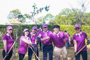 TTC Lâm Đồng tiếp tục ra quân trồng cây 'Gieo mầm yêu thương'