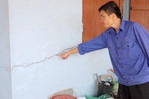 Quảng Ninh: Nổ mìn làm đường 300 tỷ khiến nhà dân hư hỏng