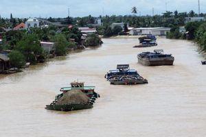 Cấm tàu thuyền trên 3 tuyến kênh quốc gia để phục vụ thi công