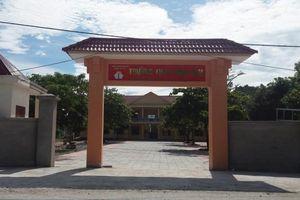Nghệ An: Địa phương lý giải vì sao trường vẫn đạt chuẩn khi 'hiệu trưởng, kế toán dính án'