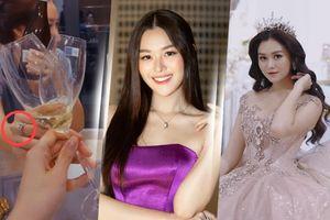 Á hậu Tường San xác nhận kết hôn ở tuổi 20 với bạn trai lớn hơn 9 tuổi vào cuối tháng 11