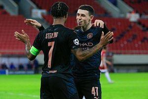 Champions League: Man City vào vòng 1/8