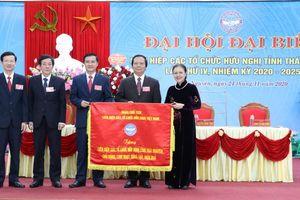 Ông Vũ Duy Hoàng được bầu làm Chủ tịch Liên hiệp các tổ chức hữu nghị tỉnh Thái Nguyên