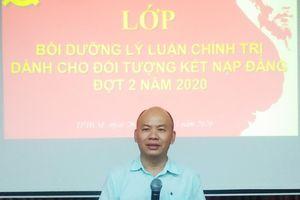 Đảng ủy Khối cơ sở Bộ Xây dựng khai giảng lớp bồi dưỡng nhận thức về Đảng
