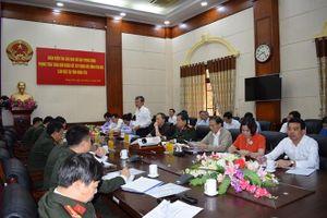 Thứ trưởng Trần Quốc Tỏ làm việc tại tỉnh Hưng Yên