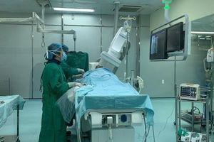40 phút 'nghẹt thở' cứu sống nam bệnh nhân bị nhồi máu cơ tim cấp