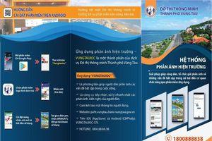 Vũng Tàu: Tạo App điện thoại để nhận, gửi thông tin cho dân
