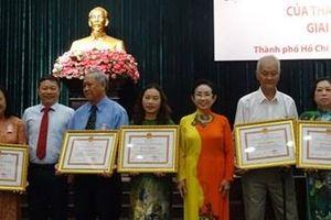 TP Hồ Chí Minh tuyên dương mô hình học tập tiêu biểu