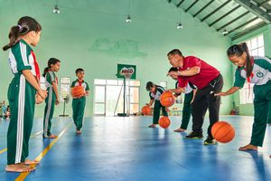 Hành trình truyền cảm hứng thể thao cho trẻ em đồng bằng sông Cửu Long