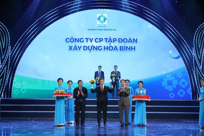 Hòa Bình là nhà thầu xây dựng 7 lần liên tiếp đạt Thương hiệu Quốc gia Việt Nam