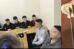 Hà Nội: Nhóm thanh niên vác dao kiếm hỗn chiến giữa phố 'sa lưới'