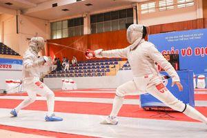 Hà Nội thắng lớn tại Giải vô địch đấu kiếm quốc gia năm 2020