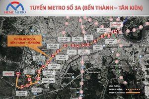 TP Hồ Chí Minh: Đề xuất bổ sung thêm nhà ga tuyến metro số 3A Bến Thành - Tân Kiên