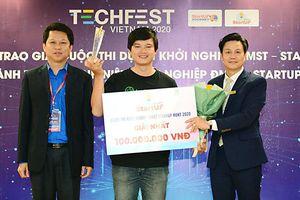 Nền tảng Nông Sản vô địch cuộc thi khởi nghiệp đổi mới sáng tạo