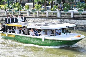 Thái Lan đưa vào hoạt động dịch vụ tàu thủy chở khách chạy điện