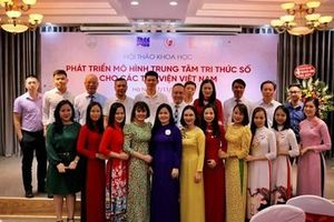 Phát triển trung tâm tri thức số cho các thư viện Việt Nam