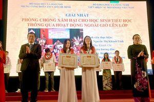 10 đề tài được trao giải Nhất 'Sinh viên NCKH năm 2020'