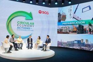 SCG tiên phong phát triển bền vững thông qua kinh tế tuần hoàn