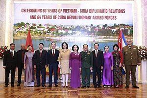 Kỷ niệm 60 năm thiết lập quan hệ ngoại giao Việt Nam-Cuba