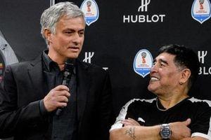 Arsenal chạm mốc ấn tượng, huấn luyện viên Mourinho tiết lộ về Maradona