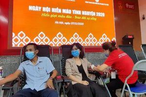 Hà Nội: Ngày hội hiến máu tình nguyện năm 2020 thu về hơn 500 đơn vị máu