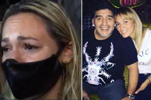 Không được vào viếng, tình cũ từng khiến Maradona điêu đứng khóc lóc và thấy 'ô nhục'