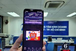 Thử nghiệm nhanh sóng 5G VinaPhone tại TP Hồ Chí Minh, download chạm mốc 1 Gbit/s