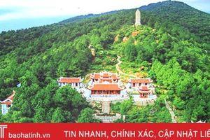 Thiết lập lại hệ thống cảnh quan khuôn viên chùa Hương Tích trước mùa lễ hội