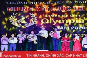 Lộ diện quán quân vô địch Đường lên đỉnh Olympia THPT Chuyên Hà Tĩnh năm 2020