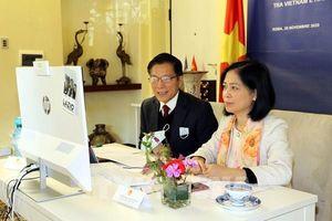 Diễn đàn trực tuyến về hợp tác kinh tế Việt Nam – Italy