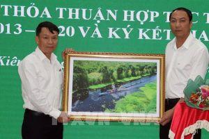 TTXVN và tỉnh Kiên Giang tăng cường hợp tác truyền thông