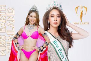 Hoa hậu Trái đất Thái Lan rớt sạch giải thưởng phụ: Đội vương miện diễn bikini, pose dáng quá đà