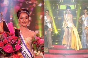 Á hậu Hoàn vũ Campuchia 'muối mặt' vì lộ quần nội y trên sóng truyền hình