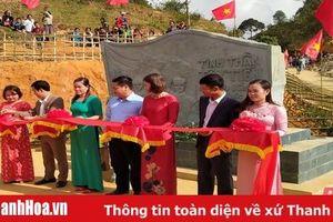 Khánh thành Bia lưu niệm Tây Tiến ở Sài Khao
