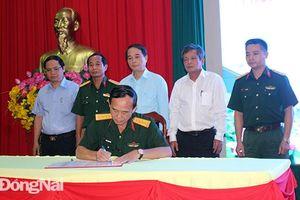 Ký kết phối hợp tuyên truyền nhiệm vụ quân sự quốc phòng và lực lượng vũ trang Đồng Nai