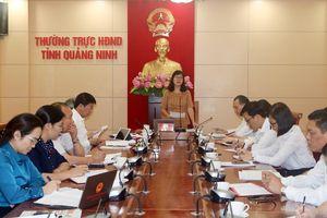 Ban Pháp chế HĐND tỉnh thẩm tra báo cáo trình kỳ họp thường lệ cuối năm