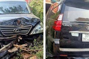 Xe Lexus lao ngược chiều với tốc độ kinh hoàng gây tai nạn liên hoàn