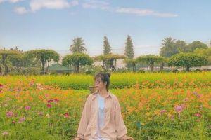Học viện Nông nghiệp Việt Nam sở hữu không gian tràn ngập sắc hoa, tha hồ 'sống ảo'
