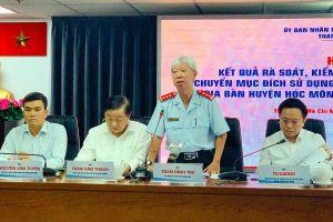 'Hơn 1.300 hồ sơ sai phạm đất đai ở Hóc Môn là cá biệt'