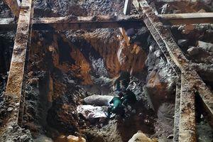 Quận Ba Đình: Phát hiện một quả bom chưa phát nổ