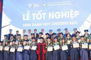 2.100 học viên-sinh viên Trường ĐH Bách khoa TPHCM nhận bằng tốt nghiệp