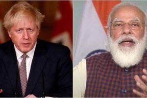 Anh-Ấn Độ thảo luận lộ trình phát triển quan hệ song phương đầy tham vọng