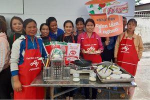 Ajinomoto đồng hành cùng bữa cơm gia đình của người Việt