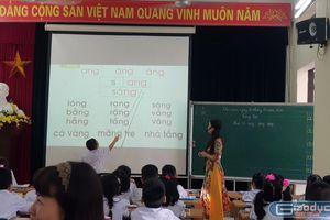 Trường Tiểu học Võ Thị Sáu, Hải Phòng sáng tạo cách dạy vần cho học sinh