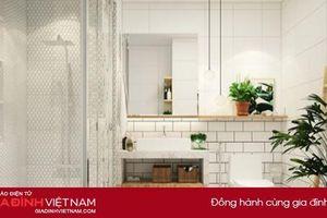 Mẹo đơn giản biến phòng tắm sang chảnh như trong khách sạn