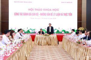 Ban Tổ chức Trung ương và Tỉnh ủy Nghệ An phối hợp tổ chức Hội thảo khoa học về công tác cán bộ