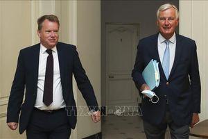 Anh, EU nối lại đàm phán trực tiếp về thỏa thuận thương mại hậu Brexit