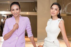 Hoa hậu Ngọc Diễm diện vest quyền lực, đọ sắc cùng 'hổ chiến' tại Hoa hậu Hoàn vũ